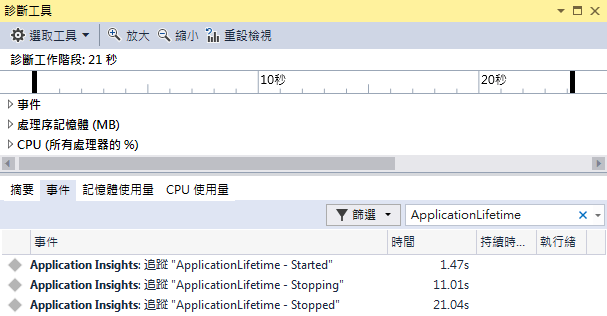 ASP.NET Core 教學 - Application Lifetime