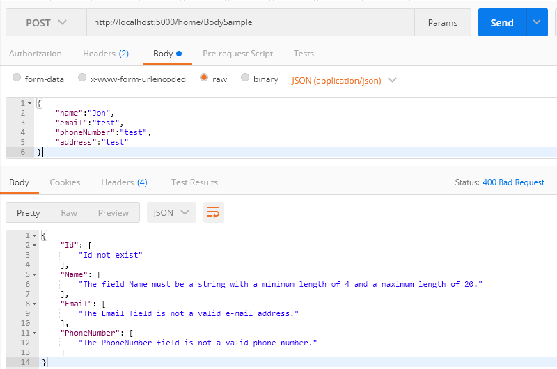 [鐵人賽 Day09] ASP.NET Core 2 系列 - Model Binding - Model 驗證