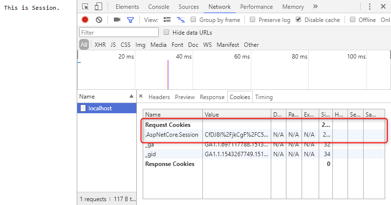 [鐵人賽 Day11] ASP.NET Core 2 系列 - Cookies & Session - Session