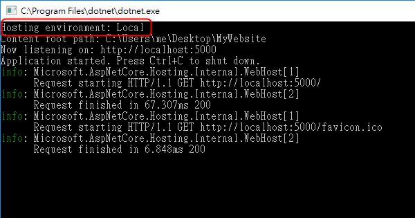 [鐵人賽 Day16] ASP.NET Core 2 系列 - 多重環境組態管理 (Multiple Environments) -Visual Studio 2017