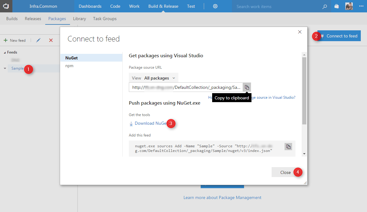 TFS - Download NuGet.exe